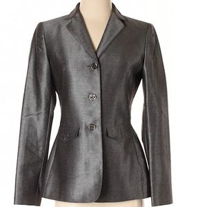 Calvin Klein Gray metallic Blazer